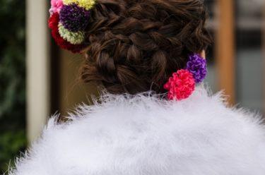 成人式の髪型ショートで可愛いアレンジは?おすすめ髪飾り・編み込み