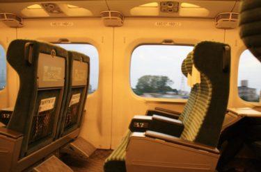 新幹線子連れ乗車座席のおすすめは?荷物どこに置く?自由席が良い?